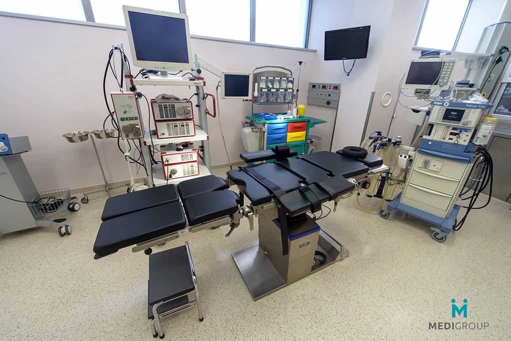 Operaciona sala - odeljak hirurgije u Opštoj bolnici Medigroup