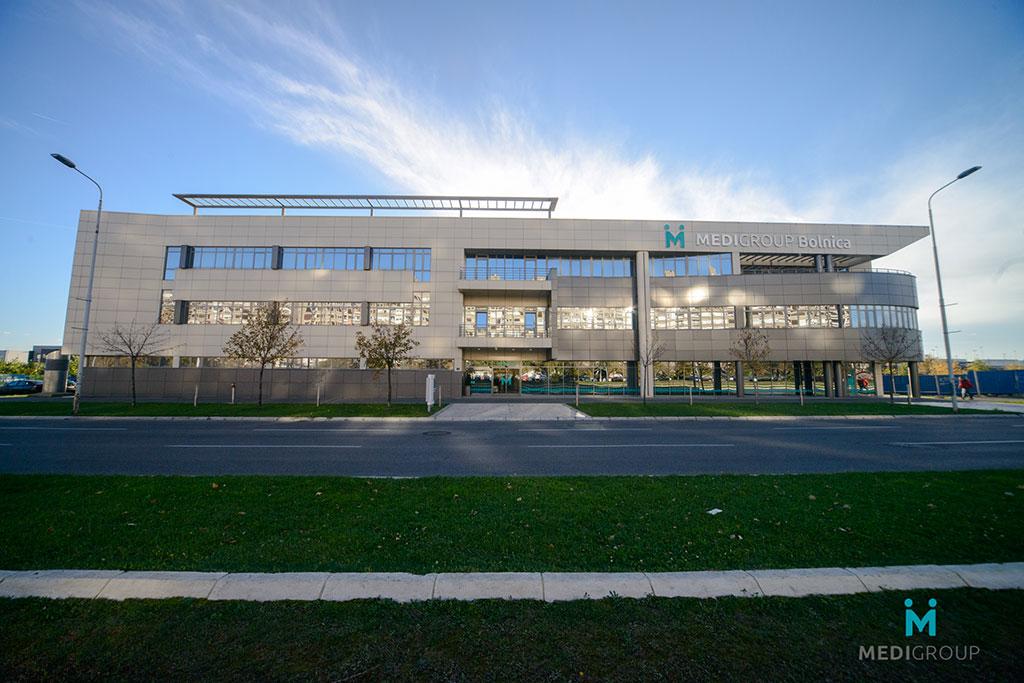 Opšta bolnica Medigroup - izgled bolnice spolja