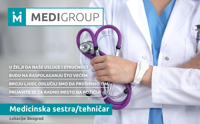 Konkurs - Medicinska sestra
