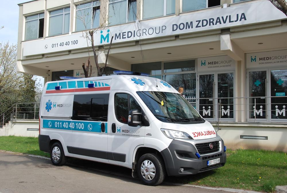 Sanitetski prevoz - Dom zdravlja dr.Ristić