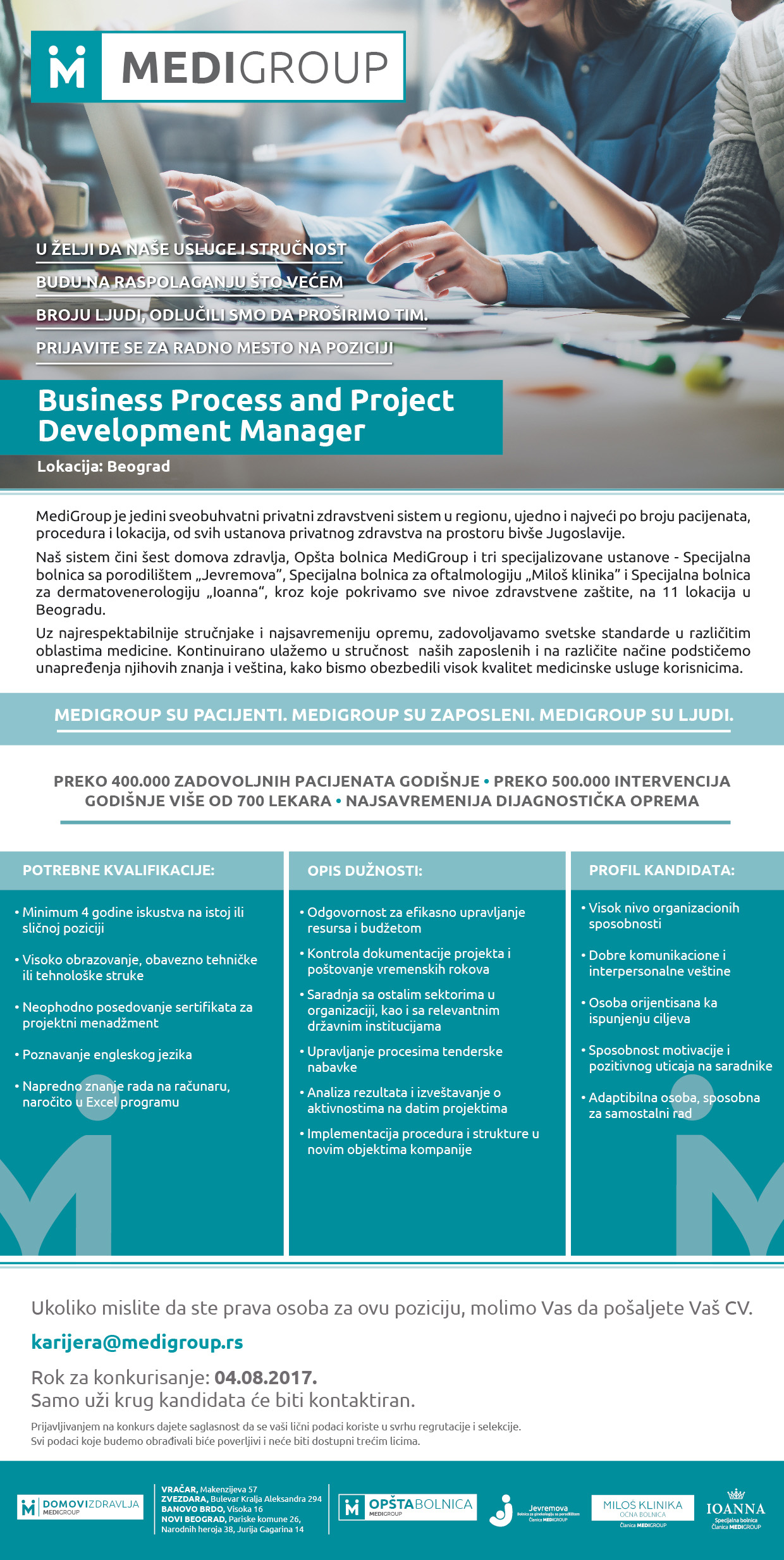 Project Development Manager